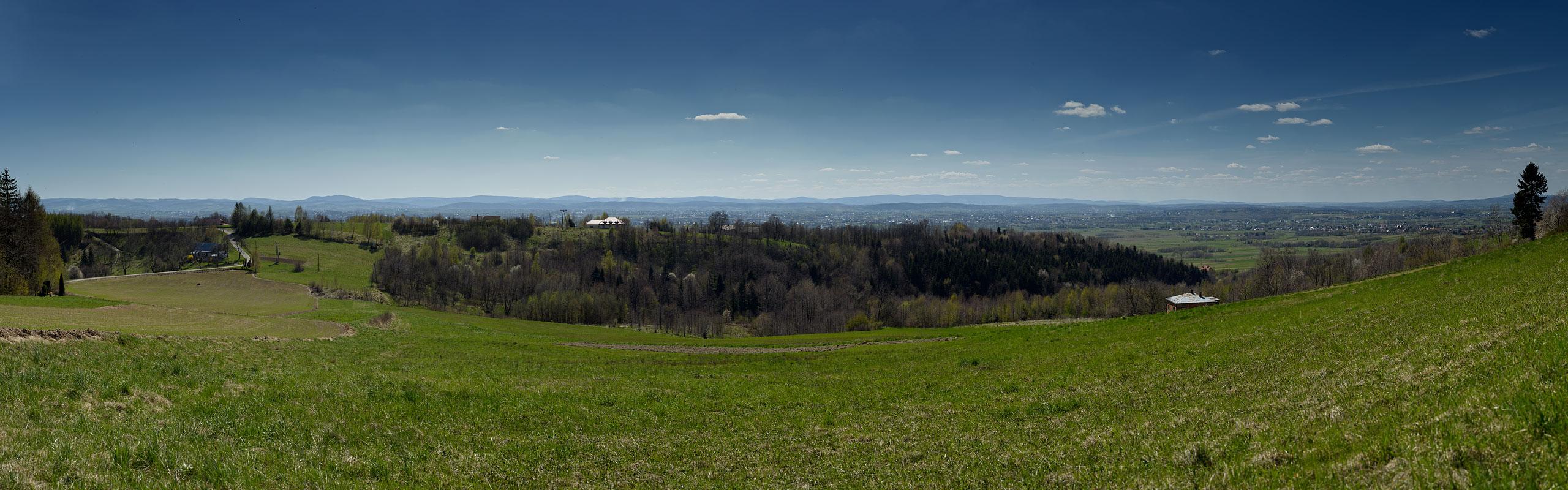 Krosno Valley high resolution panorama link