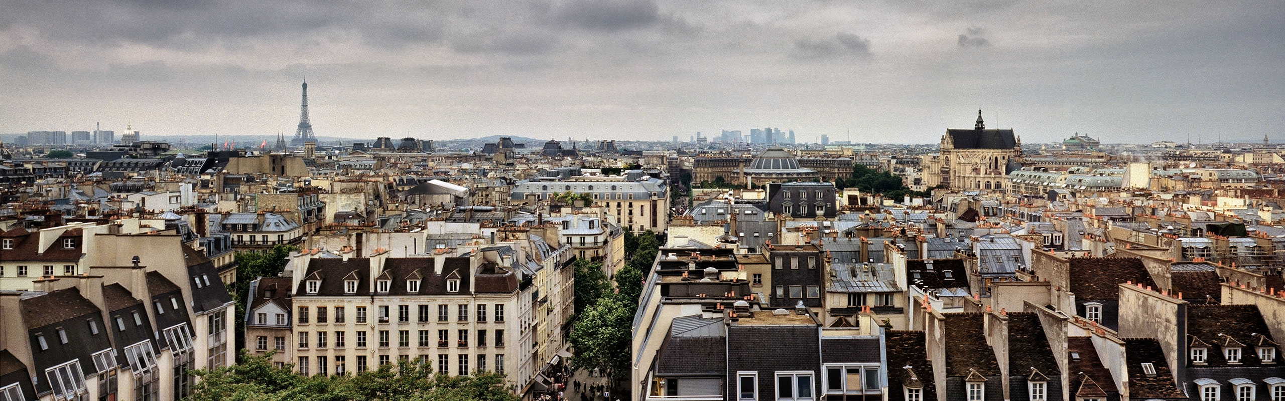 View from Centre Georges Pompidou, Paris