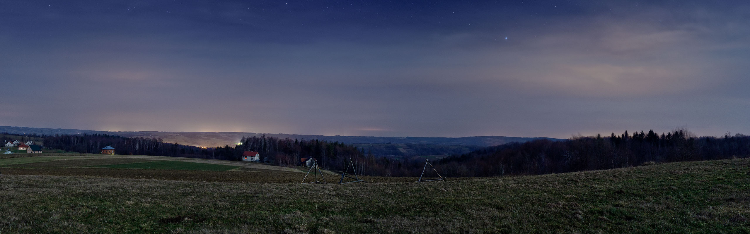 Szufnarowa lookout high resolution panorama link