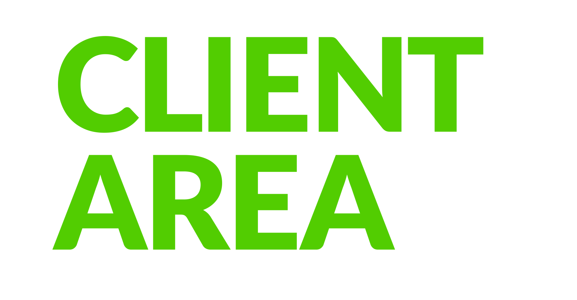 Client area banner